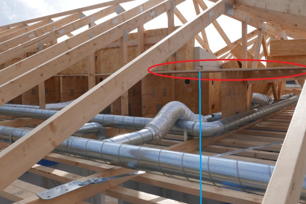 Tagkonstruktion og ventilationsanlæg | Vi bygger nyt hus med HusCompagniet